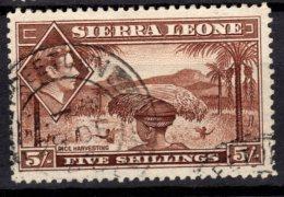 Sierra Leone,  1938, SG 198, Used - Sierra Leone (...-1960)