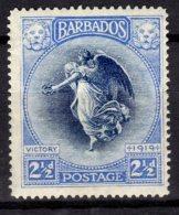 Barbados, 1920, SG 205, Mint Hinged - Barbades (...-1966)