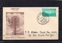 INDE 1953 - FDC