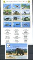 166 ST VINCENT Et GRENADINES 1999 - Yvert 3629/40 BF 433 - Faune Prehistoire Dino  Neuf ** (MNH) Sans Trace De Charniere - St.Vincent Y Las Granadinas
