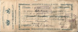 Fiscal  44 Saint Nazaire - ALEX  CHAMEROY & Cie , Vins Fins ,Facture Acquitée Timbrée De 1899 - Saint Nazaire
