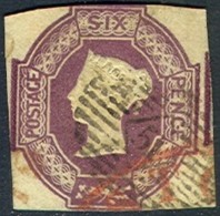 GREAT BRITAIN 7, Used, Sound, RARE.. (gb007-7, . [16-ATYU - 1840-1901 (Victoria)