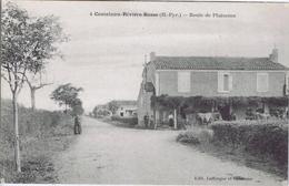 65 - Castelnau-Rivière-Basse (Hautes-Pyrénées) - Route De Plaisance