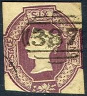 GREAT BRITAIN 7, Used, Sound, RARE.. (gb007-8, . [16-ATYU - 1840-1901 (Victoria)
