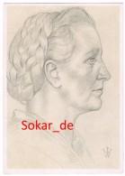 VDA-AK Sign. Willrich, Deutscher Blutadel, 3. Reich, Propaganda, Bäuerin Aus Niedersachsen - Willrich