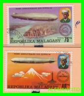 MADAGASCAR  ( MALAGASY )   2 SELLOS  AÑO 1976 - Madagascar (1960-...)