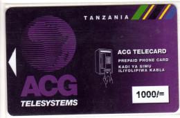 TANZANIE PREPAYEE ACG - Tanzanie