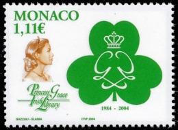 MONACO 2004 - Yv. 2426 **   Faciale= 1,11 EUR - Irish Library. Princesse Grace ..Réf.MON20120 - Monaco