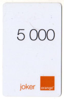 CAMEROUN PREPAYEE ORANGE JOKER 5000 - Cameroon
