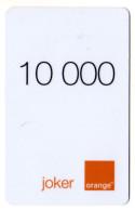 CAMEROUN PREPAYEE ORANGE JOKER 10000 - Cameroon