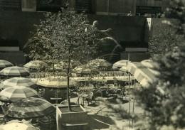 USA New York Terrasse De Bar Ancienne Photo Houston Rogers 1930's - Places