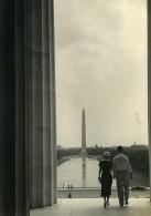USA DC Washington Monument Ancienne Photo Houston Rogers 1930's - Places
