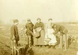 France Lille Frontiere Belge Contrôle Douanier Des Menageres Ancienne Photo 1900 - Photos