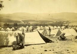 Maroc Région De Meknes Camp Des Oliviers Tringlots & Turcos Ancienne Photo 1894 - Photographs