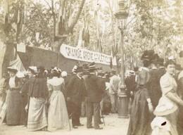 France Coulon Le Photographe A La Grande Arene Athlétique Ancienne Photo 1900 - Photographs