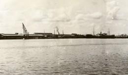 Indonesie Medan Panorama Du Port Belawan Deli Riviere Ancienne Photo 1930 - Places