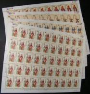 Taiwan 1992 Chinese Opera Stamps Sheets Car Ship Horse