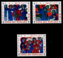 VATIKAN Nr 1390A-1392A Postfrisch S00649A - Unused Stamps