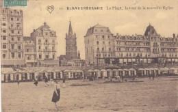 BLANKENBERGHE PLAGE TOUR DE LA NOUVELLE EGLISE BELGIQUE - Sin Clasificación