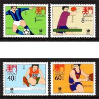 MACAO 1988 N° 571 à 574  * * Neufs Lot - 471 - Ete 1988: Séoul