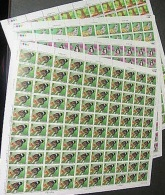 Taiwan 1989 Butterflies Stamps Sheets Butterfly Insect Fauna