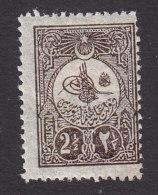 Turkey, Scott #137, Mint Hinged, Tughra, Issued 1908 - 1858-1921 Ottoman Empire