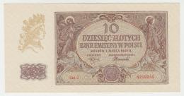 Poland 10 Zlotych 1940 UNC NEUF Pick 94 - Poland
