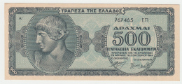 Greece 500,000,000 (500 Million) Drachmai 1944 UNC NEUF Pick 132b  132 B - Griechenland