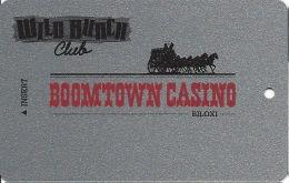 Boomtown Biloxi Casino Slot Card - Wild Bunch Club  (BLANK) - Casino Cards