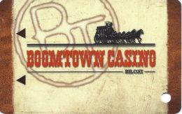 Boomtown Biloxi Casino Slot Card - Light Brown Mag Stripe  (BLANK) - Casino Cards