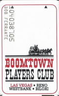 Boomtown Casino Las Vegas, NV - 2nd Issue Slot Card - LV Phone# 1-800-263-7777 - Casino Cards