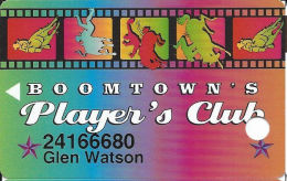 Boomtown Casino Reno, NV - 5th Issue Slot Card - No Text Over 11mm Brown Mag Stripe - Casino Cards