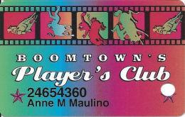 Boomtown Casino Reno, NV - 6th Issue Slot Card - Copyright 2003 - Casino Cards