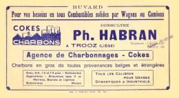 TROOZ CHARBONS HABRAN - Buvards, Protège-cahiers Illustrés