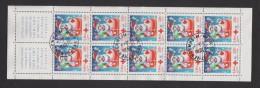 FRANCE / 2001 / Y&T N° 3436a En Bande Ou CR BC2050 (Croix-Rouge 2001) - Oblitérations Du 30/01/2001. SUPERBE ! - Red Cross
