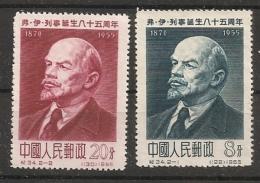 China Chine     Lenin  1955  MNH CV 60 Euro
