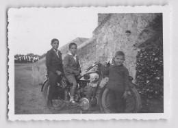 "04477 ""MOTO NSU 1932""  ANIMATA.  FOTOGRAFIA ORIGINALE - Moto"