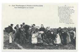 POUILLY-SUR-LOIRE (58) Les Vendanges En Bourgogne, Vendangeurs Au Travail - Beau Plan Animé - Pouilly Sur Loire