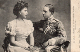 2454. ESPAGNE S.M. EL REY DON ALFONSO XIII & VICTORIA EUGENIA - Familles Royales