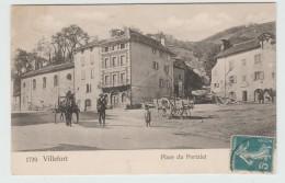 VILLEFORT (48) - PLACE DU PORTALET - Villefort