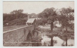 CRICCIETH (PAYS DE GALLES) - LLANYSTUMDWY BRIDGE AND CHURCH