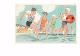 Cpa Comité Colonies De Vacances - Scouts Scout Garçon BAIGNEUR TENUE BAIN Baigneuse - été 1937 N°6 Georges Lang - Scoutismo