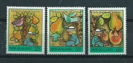 1986 New Zealand Complete Set Christmas,kerst,noël,weihnachten MNH,Postfris,Neuf Sans Charniere - Nouvelle-Zélande