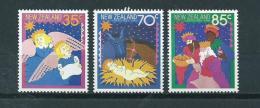 1987 New Zealand Complete Set Christmas,kerst,noël,weihnachten MNH,Postfris,Neuf Sans Charniere - Nouvelle-Zélande