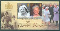 Cayman Islands - 2002 Queen Mother Block MNH__(TH-8294) - Kaaiman Eilanden