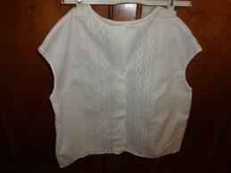 Chemisier Dame Epaule A Epaule 52cm Broderie Anglaise - Vintage Clothes & Linen