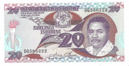 Tanzania 20 Shillings 1987 UNC - Tanzanie