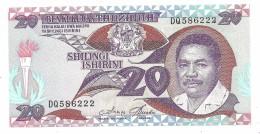 Tanzania 20 Shillings 1987 UNC - Tanzania