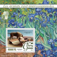GUINEA 2016 - V. Van Gogh, Irises S/S. Official Issue - Plants