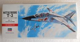Mitsubishi  T-2     1/72  ( Hasegawa ) - Airplanes